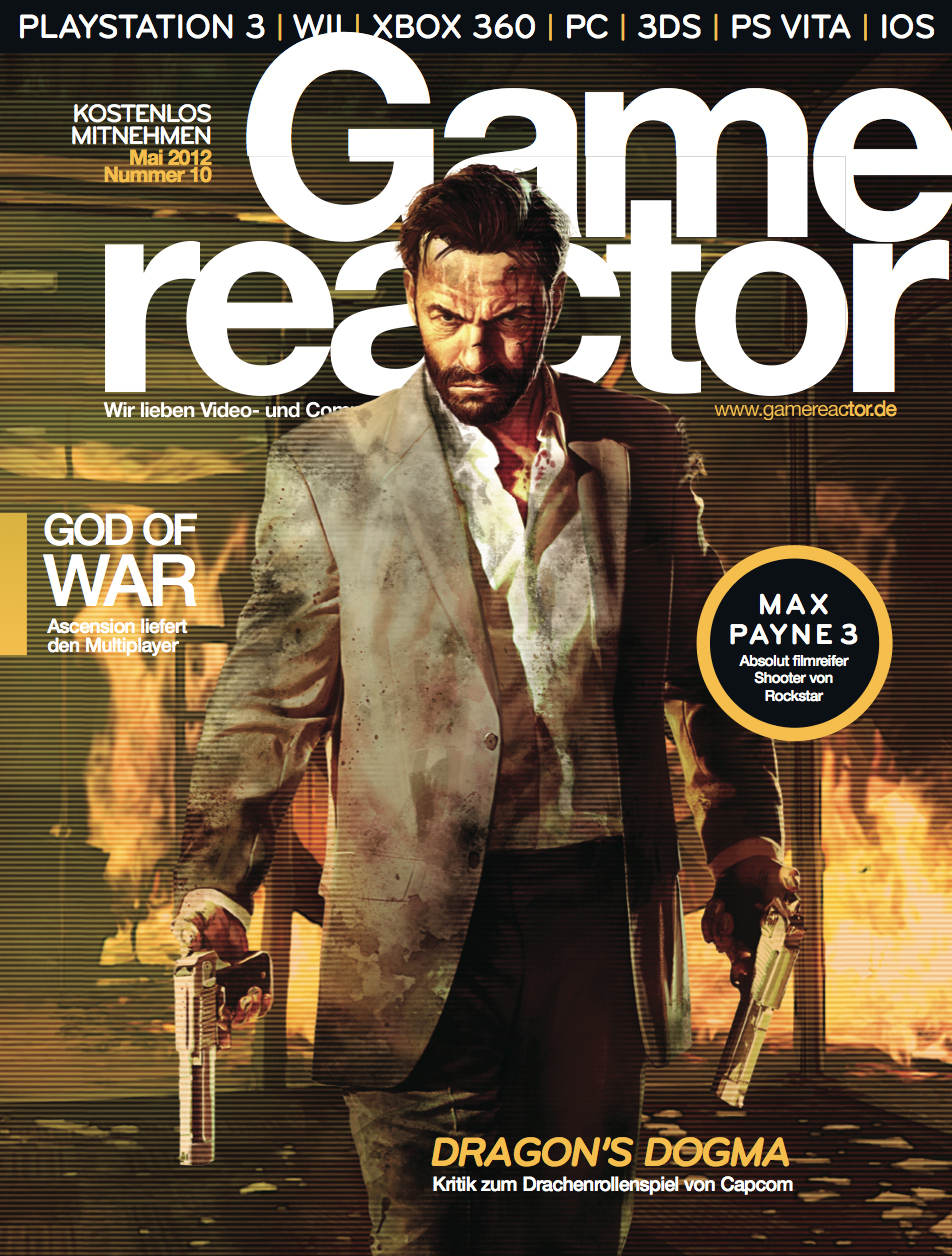 Magazin-Cover von Gamereactor nr 10