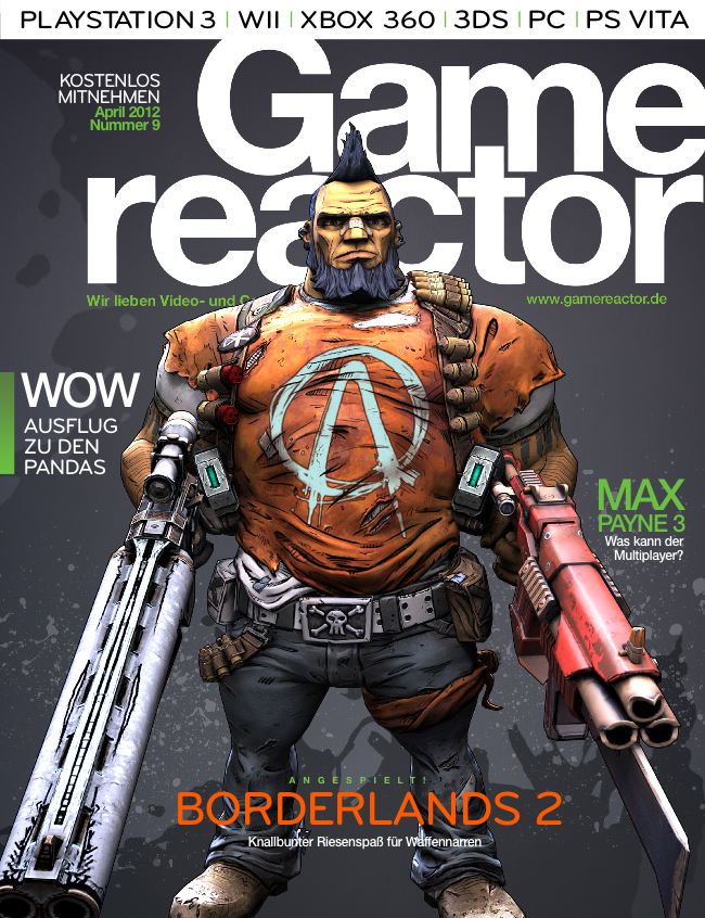 Magazin-Cover von Gamereactor nr 9