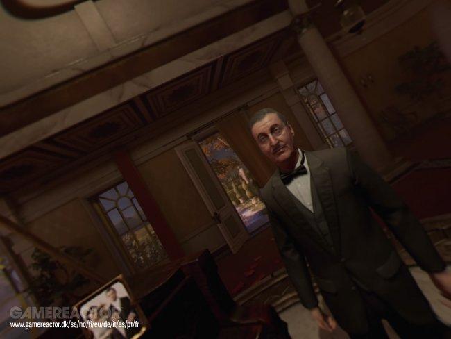 Piano Wayne Manor Szene Batman: Arkham VR, Quelle: gamereactor.de
