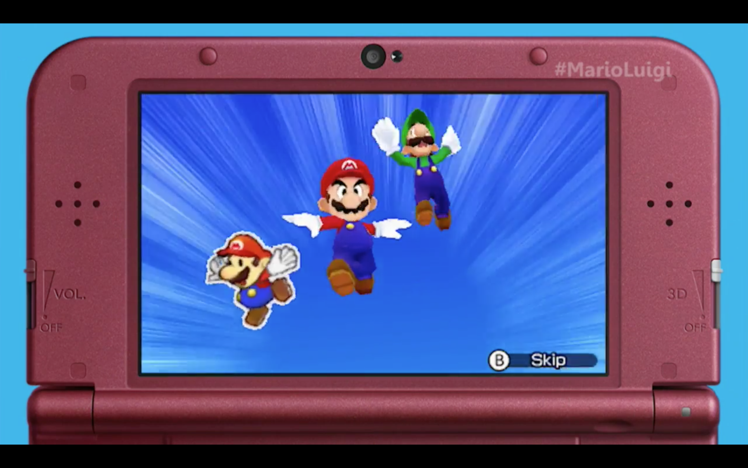 Mario Luigi Paper Jam Für 3ds Angekündigt Mario Luigi Paper
