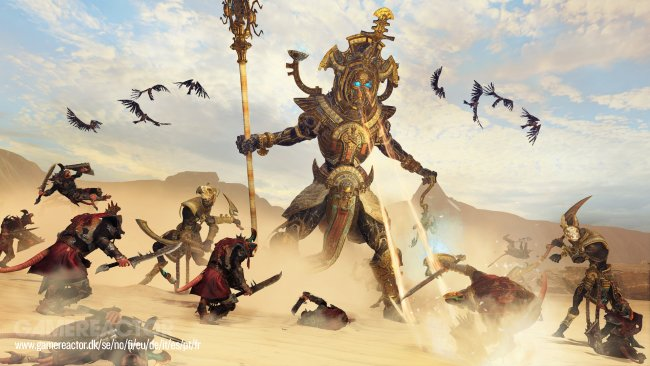 Gameplay aus Total War: Warhammer II - Rise of the Tomb King