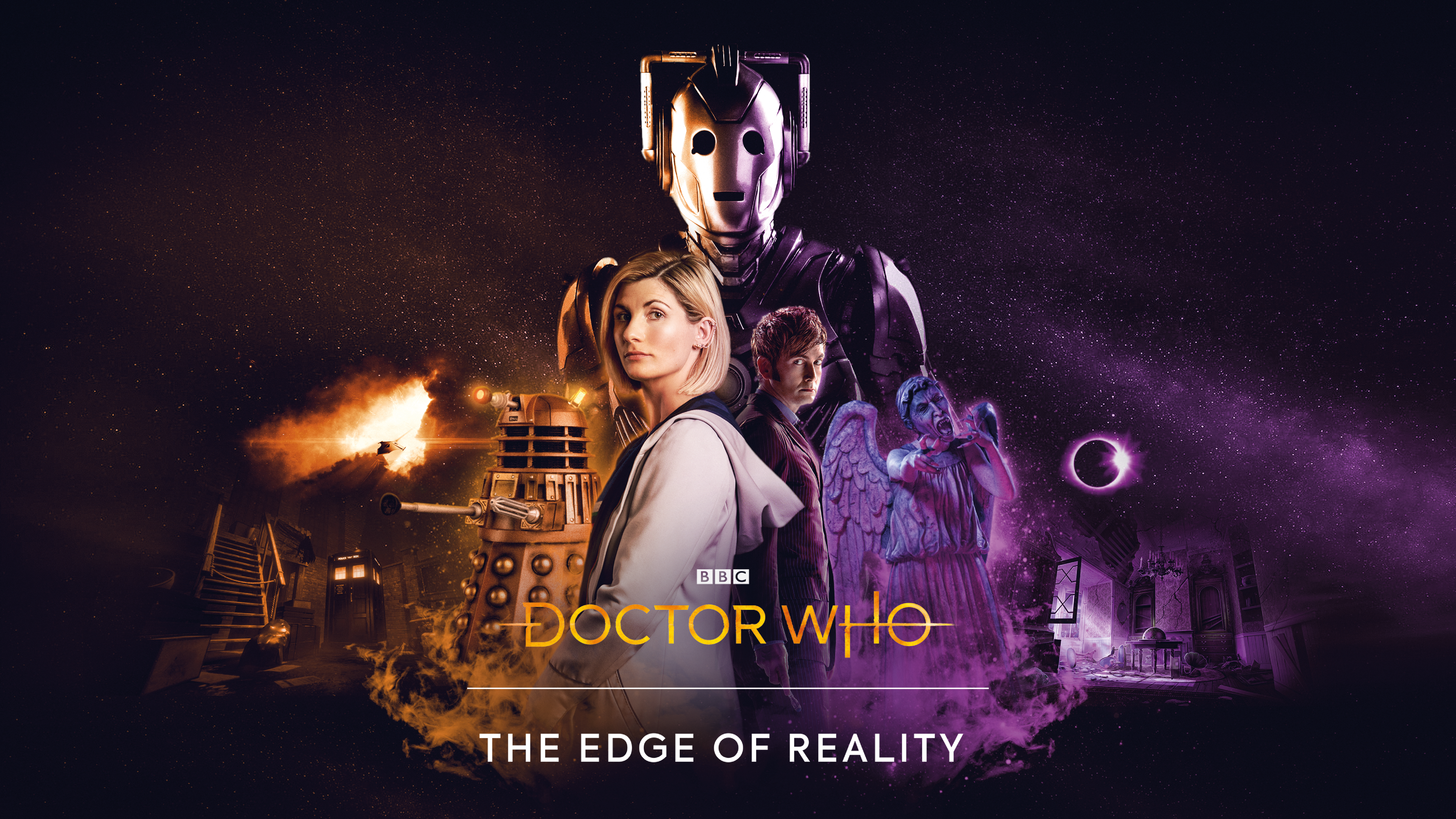 Doctor Who The Edge of Reality erscheint im September dieses ...