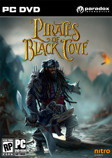 Pirates of Black Cove Deutsche  Texte, Untertitel, Menüs, Videos, Stimmen / Sprachausgabe Cover