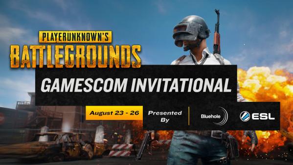 Playerunknown S Battlegrounds Text: ESL Und Bluehole Enthüllen Gamescom PUBG Invitational