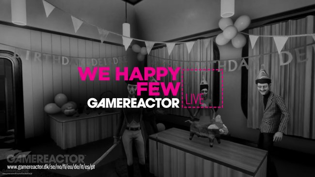 Heute deutschsprachiger Livestream zu We Happy Few