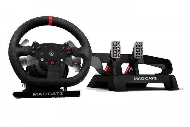mad catz pro racing force feedback wheel. Black Bedroom Furniture Sets. Home Design Ideas