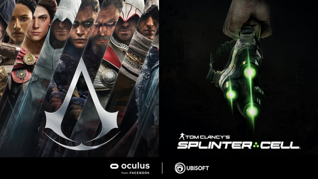 Ubisoft recycelt Assassin's Creed und Splinter Cell in VR-Projekten