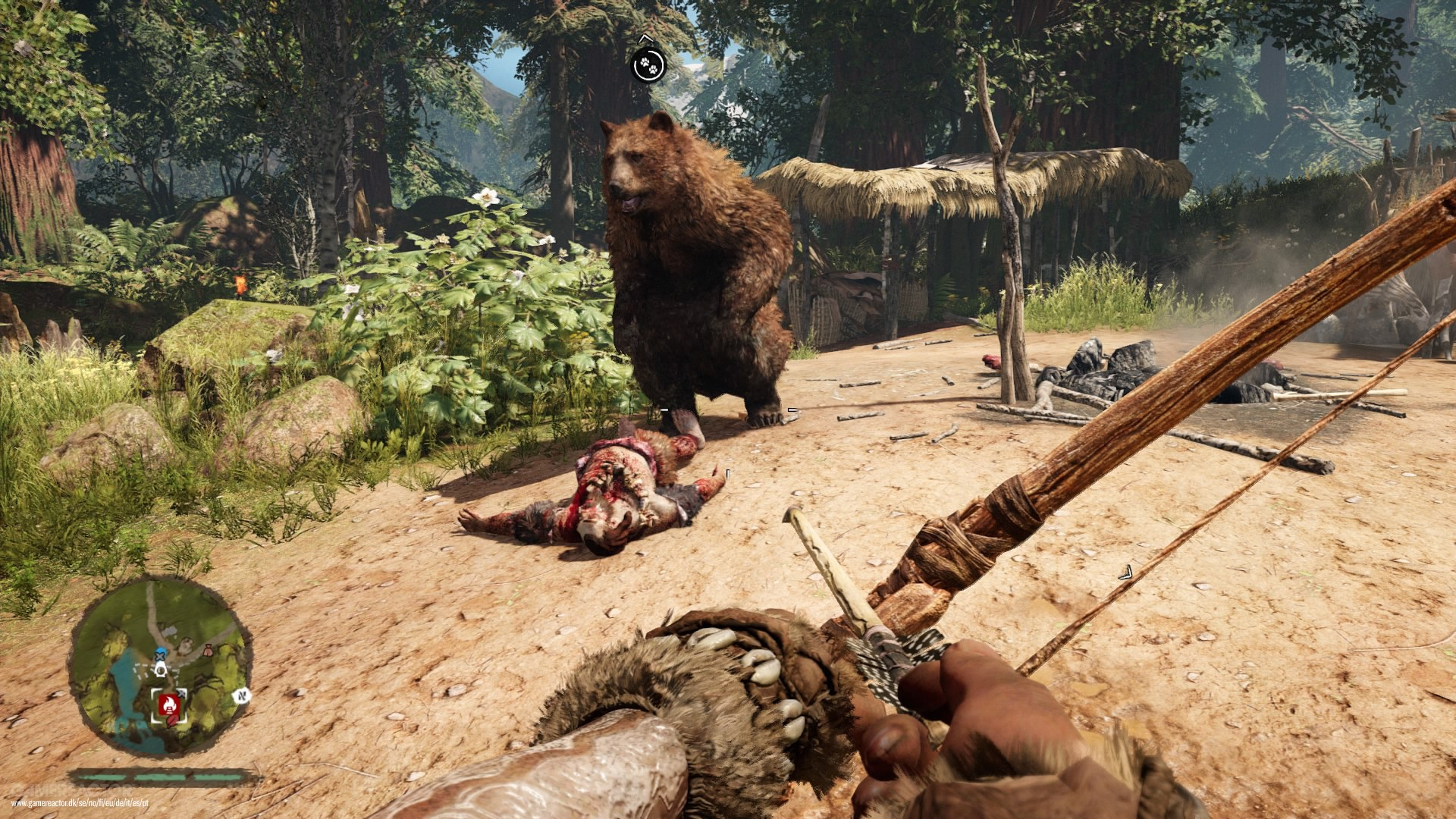 far cry primal kritik gamereactor. Black Bedroom Furniture Sets. Home Design Ideas