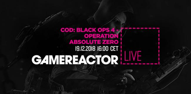 Heute im GR-Livestream: Call of Duty: Black Ops 4 - Absolute Zero