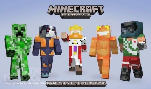 Neue Figuren für Minecraft