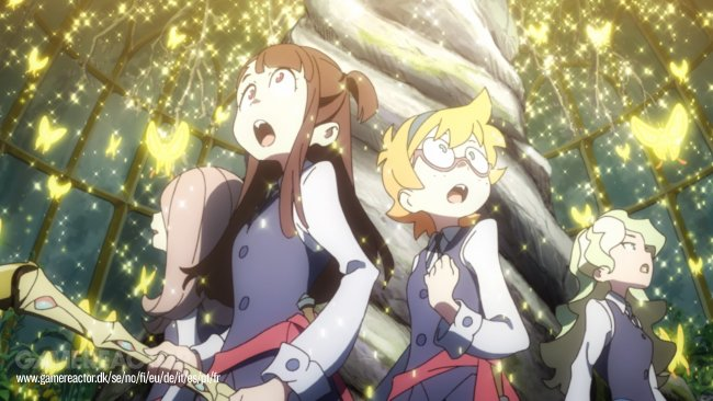 Little Witch Academia: Chamber of Time bekommt Story-Trailer