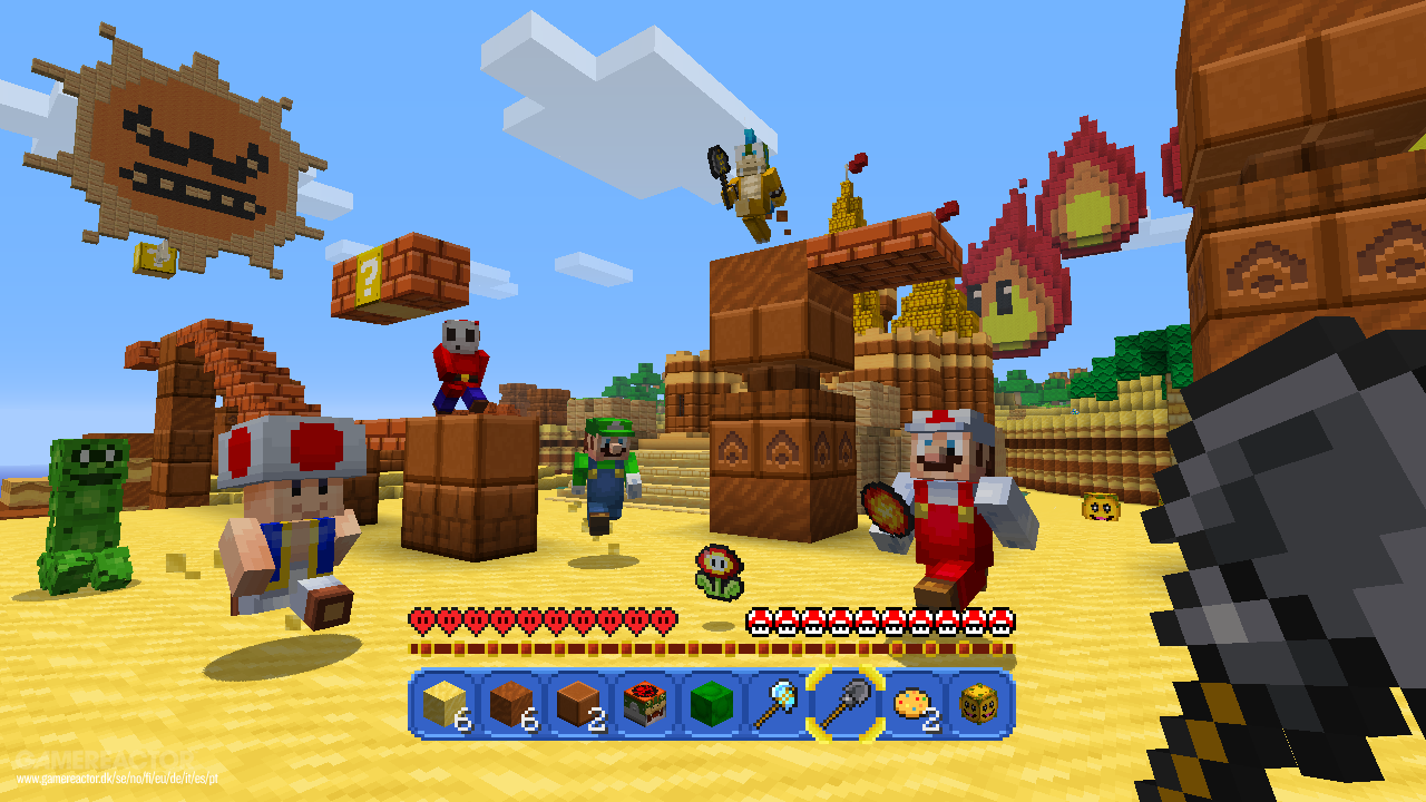Bilder Zu Super Mario MashUpPack Für Minecraft Auf Wii U - Minecraft verkaufte spiele