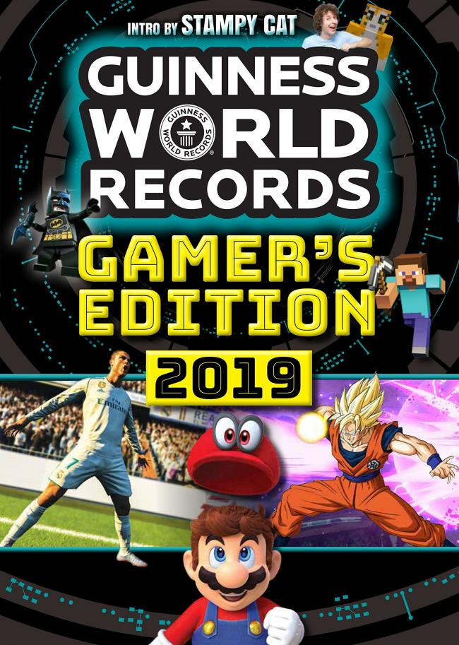 Guinness World Records: Gamer's Edition 2019 erscheint Ende August