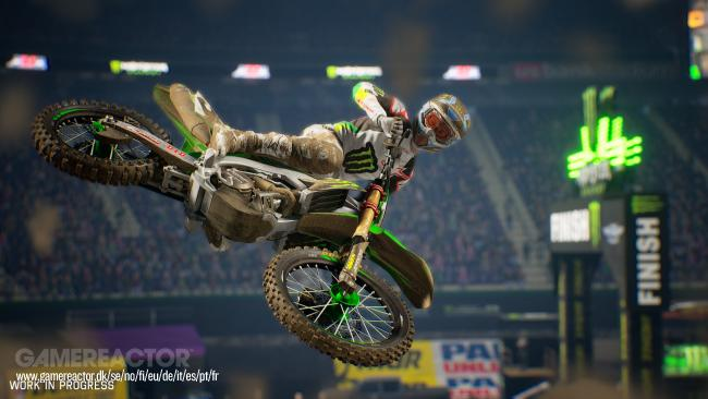 Monster Energy Supercross: The Official Videogame 2 rollt im Februar 2019 los