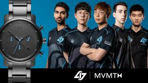 Counter Logic Gaming partners with watch brand MVMT