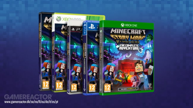 Telltale bringt Minecraft: Story Mode - The Complete Adventure Disc