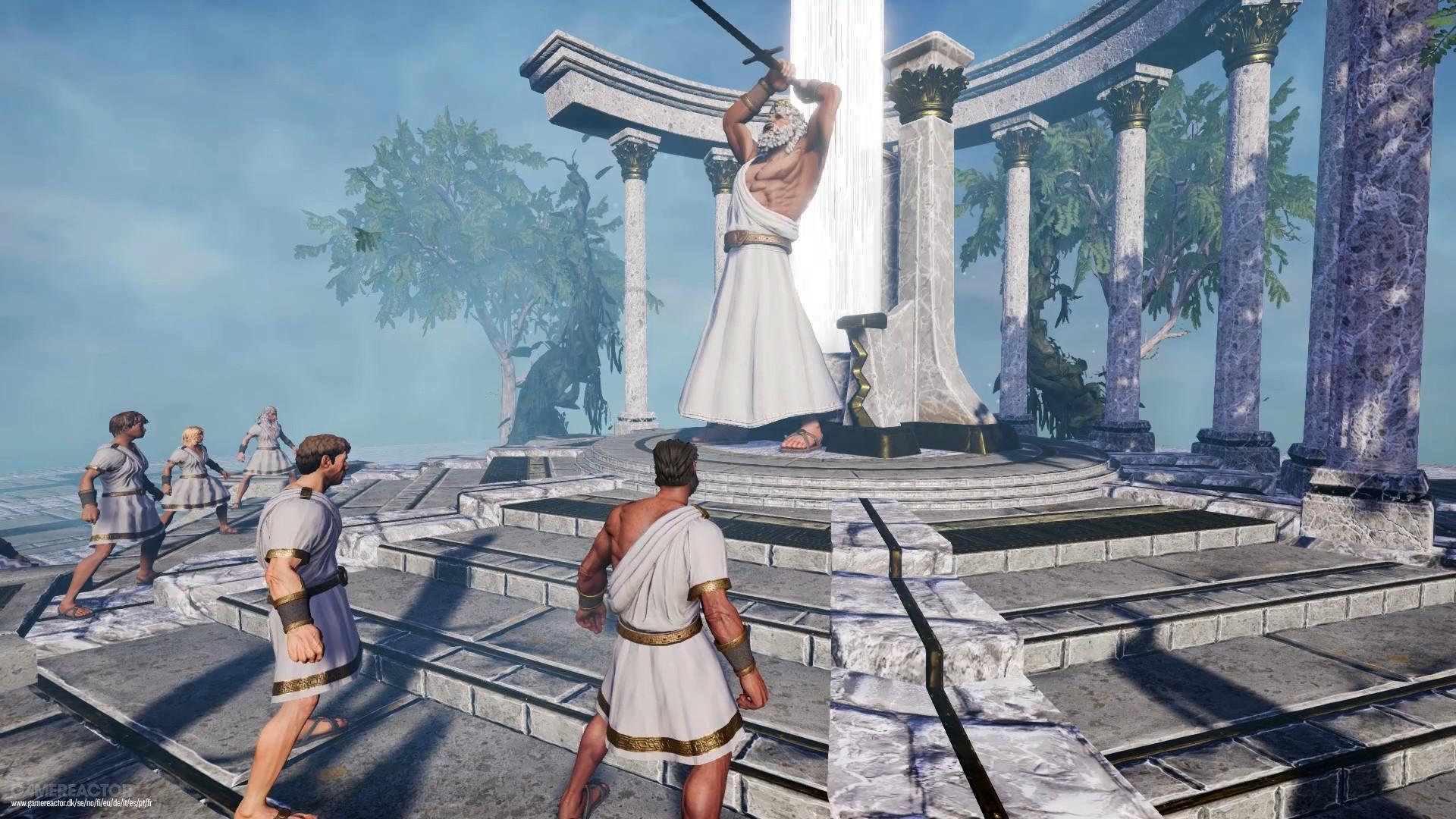 Bilder Zu God Of War Trifft Pubg In Zeus Battlegrounds Fur Pc