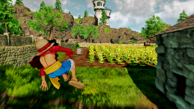 Exklusiver Gameplay-Clip von Ruffy in One Piece: World Seeker