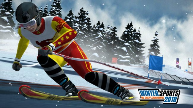 Clipart - winter sports