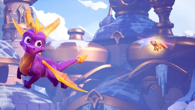Vier Level aus Spyro Reignited Trilogy bestaunen