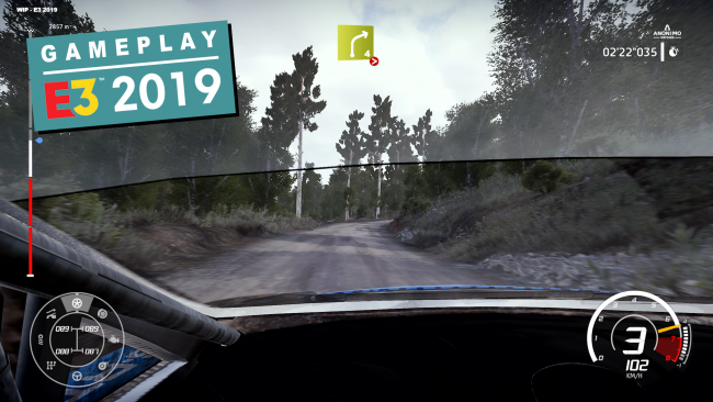 Exklusives Gameplay-Video zur E3-Demo von WRC 8