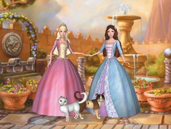 Die Prinzessin Und Das Dorfmädche