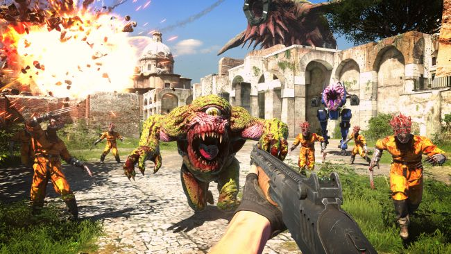 Neuer Gameplay-Trailer zeigt Serious Sam 4: Planet Badass in Rage