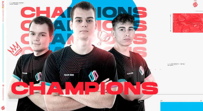 Team BDS are the back-to-back-to-back Rocket League Championship Series X European Major champions