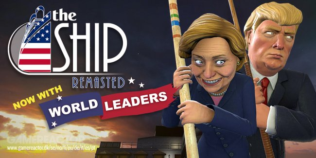 Hillary Clinton und Donald Trump kämpfen in The Ship: Remastered