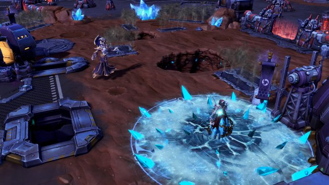 Kel'Thuzad betritt den Nexus in Heroes of the Storm