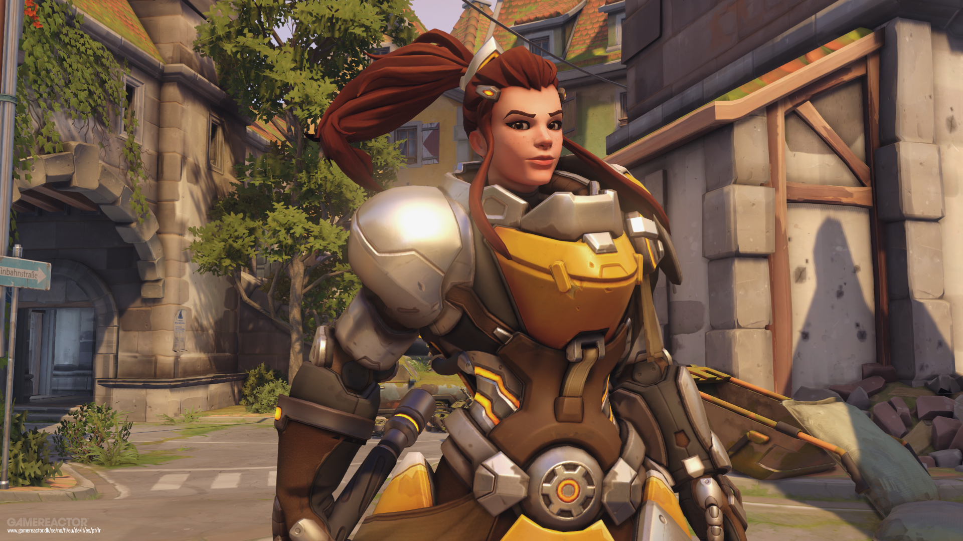 Overwatch Brigitte Wallpaper Iphone