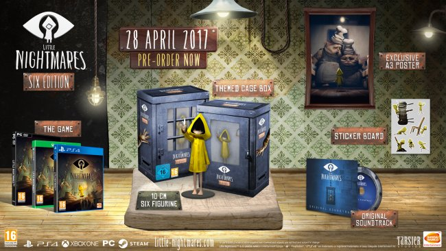 Little Nightmares mit festem Termin Ende April