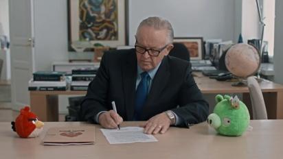Angry Birds - Martti Ahtisaari Negotiates a Truce on Piggy Island Trailer