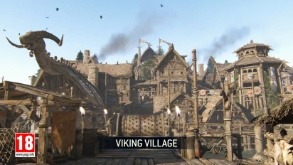 For Honor - Viking Village Map Trailer