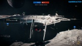 Star Wars Battlefront II - Multiplayer-Gameplay von Starfighter Assault