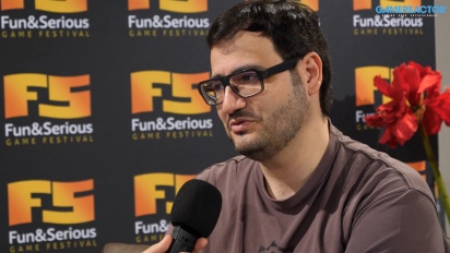 Raúl Rubio - Interview auf dem Fun & Serious Game Festival 2019