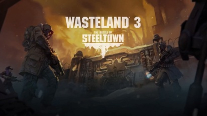 Wasteland 3 - The Battle of Steeltown: Ankündigungs-Trailer