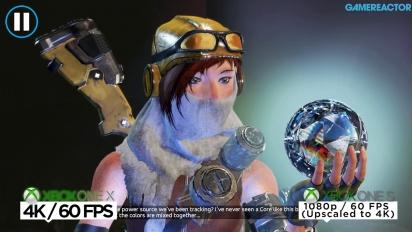 Recore - Xbox One X-/S-Videovergleich