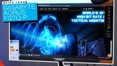 Gigabyte Aorus FI27Q-P Gaming-Monitor: Quick Look