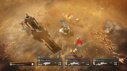 Helldivers - Turning Up the Heat DLC Trailer
