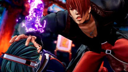 The King of Fighters XV - Iori Yagami Character Trailer #4