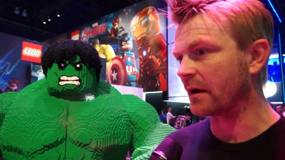 Lego Marvel Avengers - Interview Arthur Parsons
