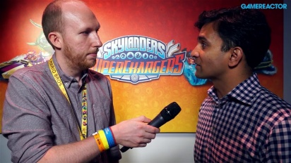Skylanders Superchargers - Interview Guha Bala