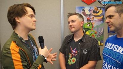 Yooka-Laylee - Steve Mayles & Grant Kirkhope Interview