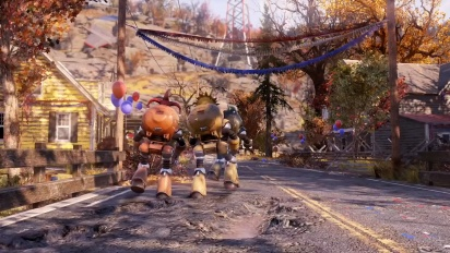 Fallout 76 - Gameplay-Trailer Wild Appalachia (deutsch)