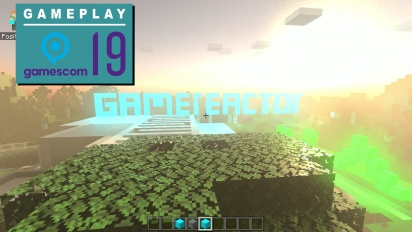Minecraft - RTX-Gameplay von der Gamescom