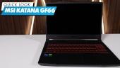 MSI Katana GF66: Quick Look