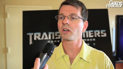 Transformers: Dark of the Moon - Interview