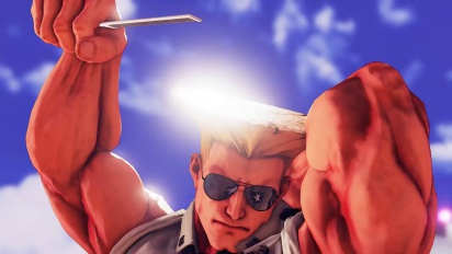 Street Fighter V - Guile Trailer