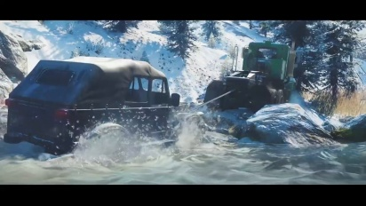 SnowRunner: A MudRunner Game - Reveal Trailer